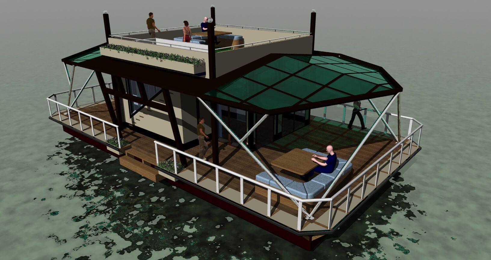 Resturant-Boat 3 FCMDS
